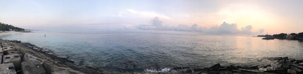 ペニダ島の朝日