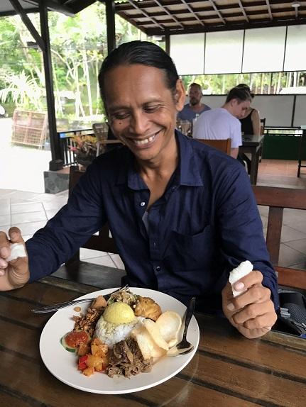 Warung Mangga Madu(ワルン マンガ マドゥー)のナシチャンプルー