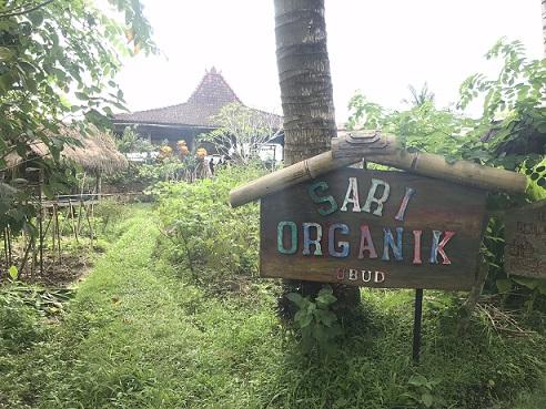 田園風景に囲まれたSARI ORGANIC(サリオーガニック)